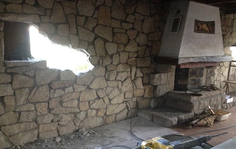 Modification d'ouverture de mur
