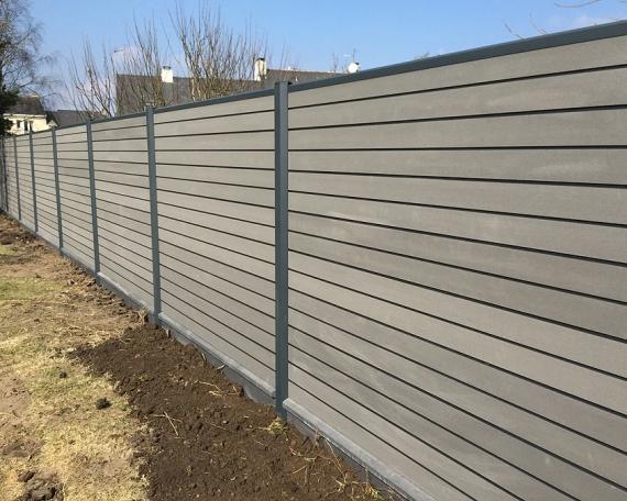 Pose clôture composite à Saint Nazaire