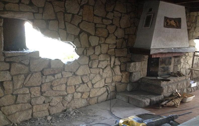 Ouverture de mur st nazaire la baule gu rande pornichet for Fenetre mur porteur