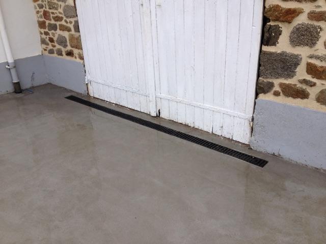 chape beton terrasse latest comment couler une dalle bton arm pour plancher with chape beton. Black Bedroom Furniture Sets. Home Design Ideas